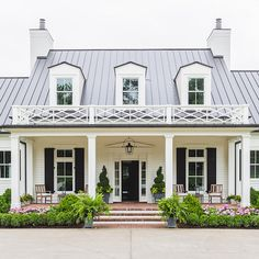 BECKI OWENS - Dream Home: A Southern Beauty. See more on beckiowens.com. Wade Weissman Architects and Castle Homes.