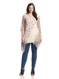 Lily by Firmiana Plus Women's Lace Patchwork Handkerchief Dress, http://www.myhabit.com/redirect/ref=qd_sw_dp_pi_li?url=http%3A%2F%2Fwww.myhabit.com%2Fdp%2FB00O8JXXFI