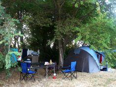 Emplacement de camping au Mas Cauvy