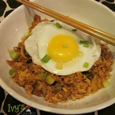 Kimchi Fried Rice (Kimchi Bokumbap) – Simple, Yummy, Simple and Spicy (my latest recipe- focusing on fried rice this month!) Vegan, Gluten Free CLICK  http://www.ivysgardenfood.com/kimchi-fried-rice-kimchi-bokumbap-yummy-vegan-gluten-free-and-spicy/