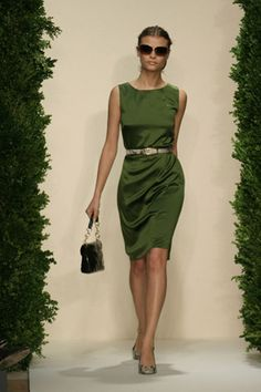 Soft forest green