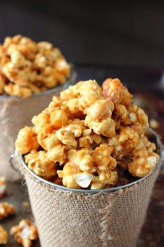 Try Butter Toffee Popcorn Recipe as an awesome snack and to give away for gifts. This is the perfect sweet and salty combination for popcorn.