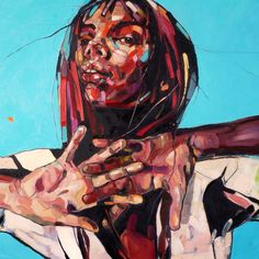 SUMMER WIND, 100x150cm, oil on canvas, 2014