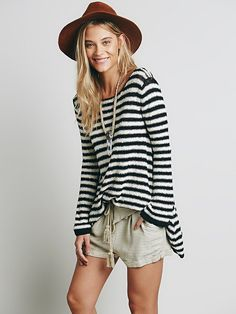 Free People Counting Stripes Swing Tunic, £98.00