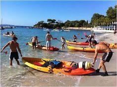 Kayak pour la fête du Printemps du Pays d'Ajaccio