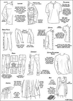 Tutorial:How to draw different type of fabrics...