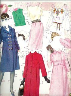 Audrey Hepburn paper doll clothes / eBay