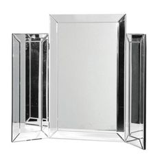 Our charming Venetian 3 Piece Mirror covers all angles, so you'll never have a hair out of place! An elegant timeless piece that will add glamour to any dressing table or mantle piece. Dressing Table Vanity Mirror, Art Deco Dressing Table, Dressing Tables, Sweetpea And Willow, Mantle Piece, Bedroom Furniture Design, Modern Art Deco, Mirror With Lights, Edge Design