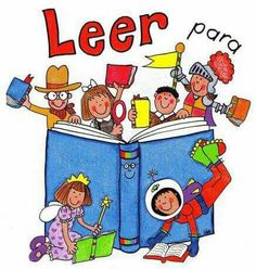 Leer para.... School Murals, Reading Comprehension Worksheets, Alphabet For Kids, Thematic Units, Classroom Language, Book Images, I Love Books, Conte, Cute Stickers