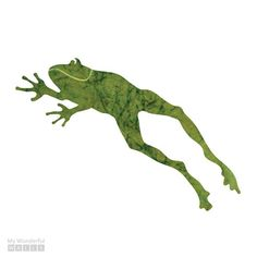 Leaping Frog Wall Sticker