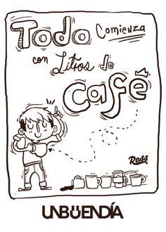 Litros de cafe | #Coffee