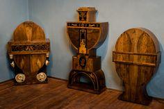 Lakatos Antique creates beautiful and unique furniture. Unique Furniture, Candle Sconces, Workshop, Wall Lights, Corner, Candles, Antiques, Beautiful, Home Decor