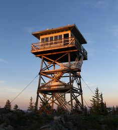 Cabin In The Sky: Stay In Fire Lookout This Summer