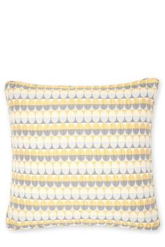 Buy Ochre Oval Woven Geometric Cushion from the Next UK online shop
