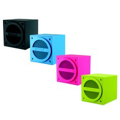 A wireless, single speaker that lets you bring the party wherever you go! #MyDreamDorm
