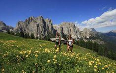 Il #benessere delle #escursioni lungo i #sentieri del #trentino