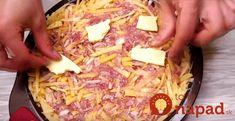 Čo variť z malej výplaty? 19 výborných jedál zo základných surovín, ktoré vás nevyjdú ani na 3 eurá a zasýtia celú rodinu! Kefir, Hawaiian Pizza, Cooking