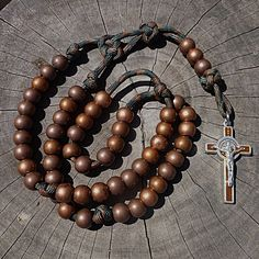 St. Benedict Woodland Paracord Military Rosary | CordBands