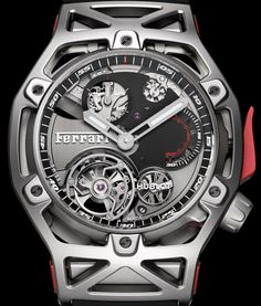 Hublot Techframe Ferrari Tourbillon Chronograph Watch Celebrating Ferrari's 70th Anniversary Watch Releases