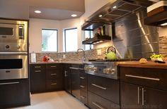 Chef's Retreat - contemporary - kitchen - dc metro - RJK Construction Inc