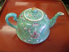 Vintage Chinese Teapot. $42.00, via Etsy.