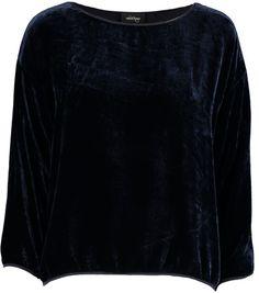 Donkerblauwe Velvet Bloes Ottod'Ame