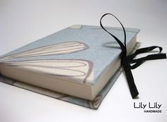 Fabric Covered Notebook - Blue