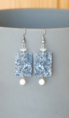 Handmade Shrink Plastic Earrings by LMsquaredCrafts on Etsy