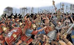 Battle of Telamon Part of Roman-Gaulish Wars Date225 BC LocationCampo Regio, near Telamon (modern Talamone in Tuscany) ResultDecisive Roman victory Belligerents Roman RepublicGauls Commanders and leaders Atilius Regulus †, Aemilius PapusConcolitanus, Aneroëstes † Strength 70,000 infantry, 5,400 cavalry50,000 infantry, 20,000 cavalry Casualties and losses 10,000 killed40,000 killed, 10,000 captured