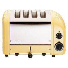 Canary yellow toaster