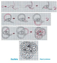 Zentangle Patterns For Beginners | Most of all, don't stress. Let your tangle decide if it wants to be a ...