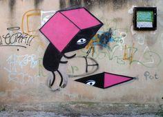 Amazing Graffiti Street Art By Escif Valence, Street Art Graffiti, Photos, Design Inspiration, Artwork, Projects, Rues, Spiritual, Walls