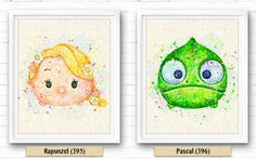FREE SHIPPING Everywhere Disney Tangled Pascal par NeighborArts