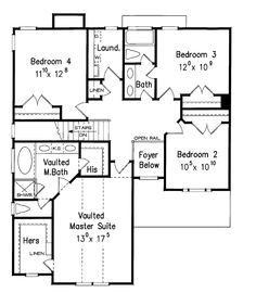 Narrow Plans on 2000 sq ft 3 bedroom 2 bath home floor plans with garage