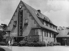 Berlin 1929 Wannsee-Terrassen im Bau
