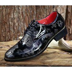 Men Black Silver Patent Leather Wedding Prom Dress Oxford Shoes Buy SKU-1100840 Man Shoes, Shoe Boots, Shoes Sneakers, Tuxedo Shoes, Men's Fashion, Wedding Suits, Prom Dress, Black Silver, Patent Leather