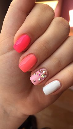 #mynails # april #2015 #loveit #newpin #myfirstpin #pink