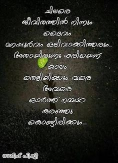 Positivity Thoughts Malayalam Quotes Sad Quotes Picture Quotes