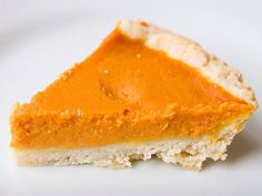 Ginger Custard Pumpkin Pie - This is the pie I have been making for years to rave reviews.
