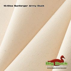 """60 wide  Sunforger® Army Duck Canvas Fabric  