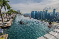 We weren't able to try the Marina Bay Sands Infinity Pool, but you should go for it, if you can. Travel Singapore