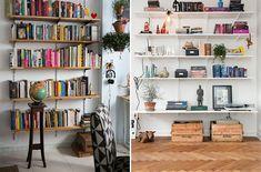como organizar e decorar a estante 7