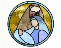 Easy nativity ornament 2 easy stained glass nativity ornament suncatcher []$2.00 | PDQ Patterns