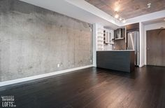 Ninety Lofts - Concrete Ceiling, Lofts For Rent, Exposed Concrete, Open Concept, Balcony, Locker Storage, Toronto, Bbq, Bedroom