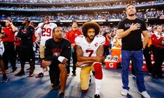 Not A Single White NFL Player Took A Knee With Kaepernick This Season