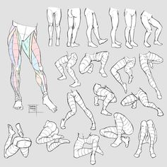 Human Figure Drawing Reference Sketchdump July 2017 [Legs] by DamaiMikaz on DeviantArt - Leg Reference, Body Reference Drawing, Human Figure Drawing, Art Reference Poses, Anatomy Reference, Figure Drawings, Figure Sketching, Drawing Legs, Body Drawing