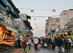 Jerusalem - Mahane Yehuda Market.