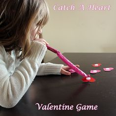 Valentine Catch the Heart Game - A great game for a Valentines Day Party!