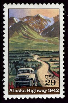 alaska stamps | Highways and Bridges Commemorated on U. S. Postage Stamps A Philatelic ...