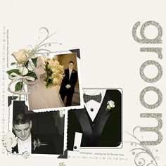 The Groom - Scrapbook.com